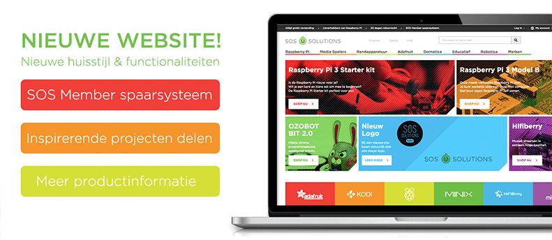 Lancering nieuwe website & huisstijl