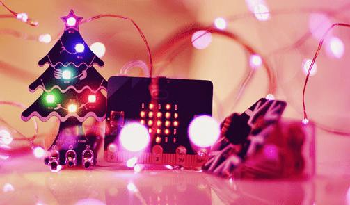 Maak je eigen kerstboom met Regenboog LEDjes
