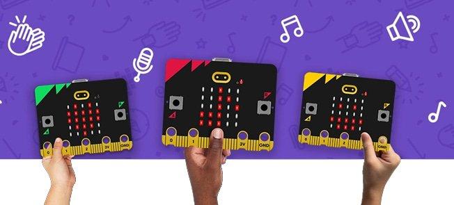 Het verschil tussen de BBC Micro:Bit V1 en BBC Micro:Bit V2
