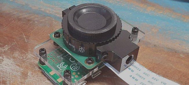 Camera Mount voor HQ Camera - Montage Handleiding