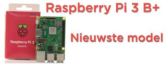SOS Solutions introduceert officieel de nieuwe Raspberry Pi 3B+, lees snel verder voor de nieuwe specs!