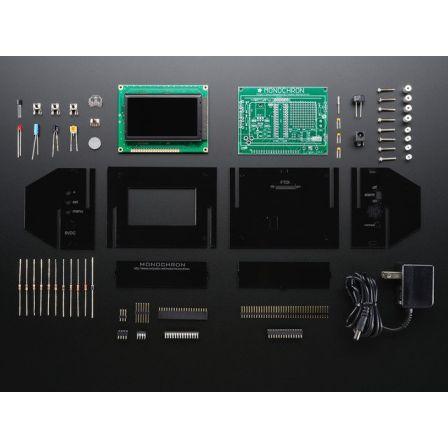 MONOCHRON Clock kit - Open source clock platform, make clocks!