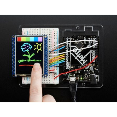 Adafruit 2.4' TFT LCD with Touchscreen Breakout w/MicroSD Socket