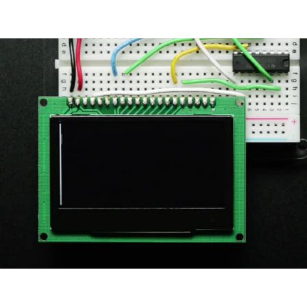 Monochrome 2.42' 128x64 OLED Graphic Display Module Kit