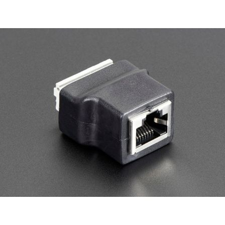 Ethernet RJ45 Female Socket Push-Terminal Block