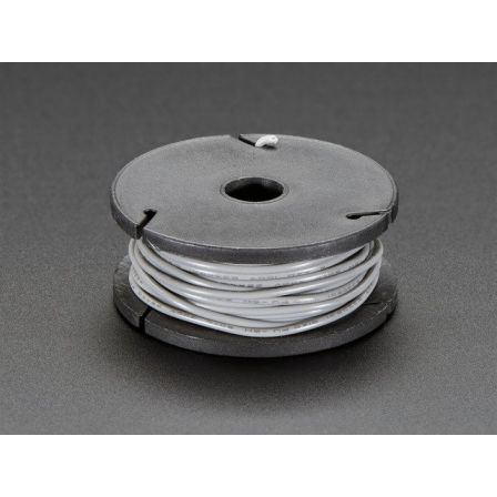 Stranded-Core Wire Spool - 25ft - 22AWG - Gray