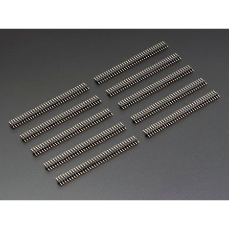 36-pin 0.1' Short Break-away Male Header - Pack of 10