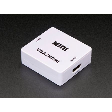 VGA to HDMI Audio and Video Adapter