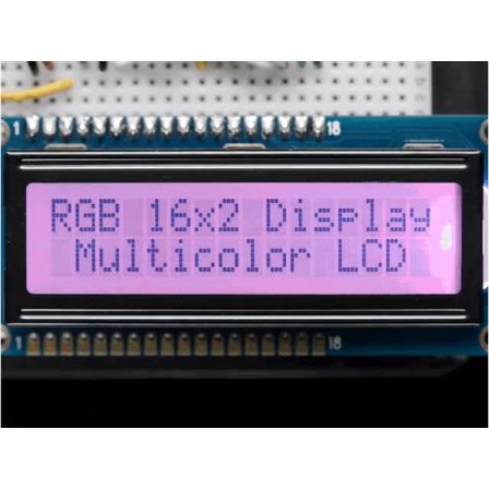 RGB backlight positive LCD 16x2 + extras