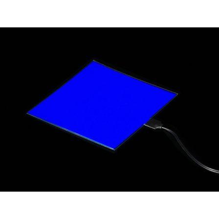 Electroluminescent (EL) Panel - 10cm x 10cm Blue