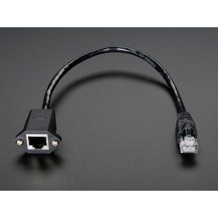 Panel Mount Ethernet Extension Cable