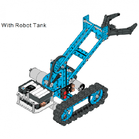 Makeblock Robotic Arm Add-on Pack for Starter Robot Kit - Blue