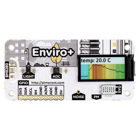 Pimoroni Enviro + Air Quality voor Raspberry Pi