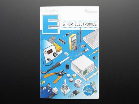 Coloring book - 'Ladyada's E is for electronics'