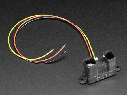 IR distance sensor includes cable (20cm-150cm)