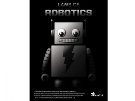 3 Laws of Robotics' poster