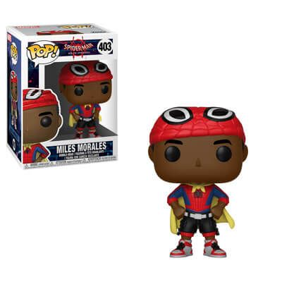 Funko Pop! Spiderman into the Spiderverse: Miles with Cape #403