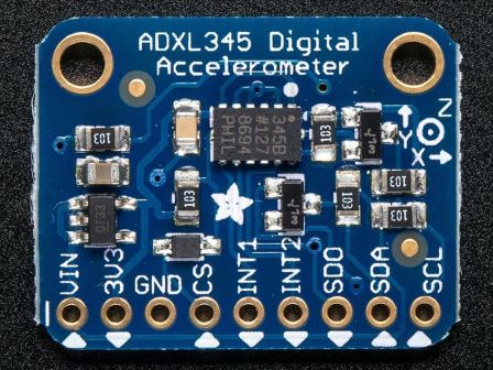 ADXL345 - Triple-Axis Accelerometer (+-2g/4g/8g/16g) w/ I2C/SPI