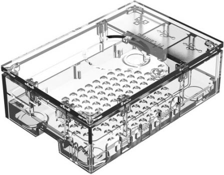 Multicomp Raspberry Pi 4 Behuizing - Transparant