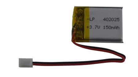 Lithium Ion Batterij - 3.7v 150mAh