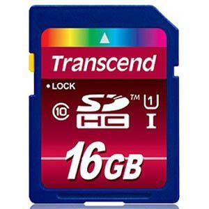 Transcend Ultimate 16GB SDHC - LAATSTE 2 STUKS