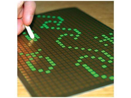 Pixel Art Scratch-Off Card