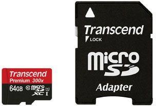 Transcend 64GB Micro SDXC Premium 90MB/s