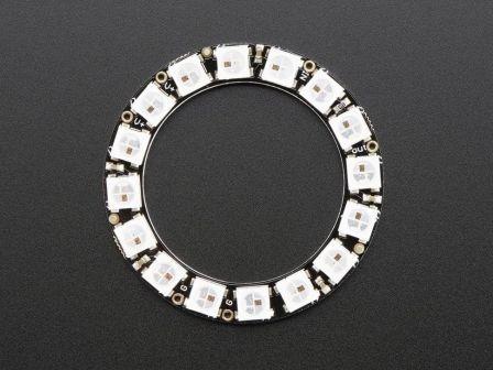 NeoPixel Ring - 16 x WS2812 5050 RGB LED met geintegreerde Drivers