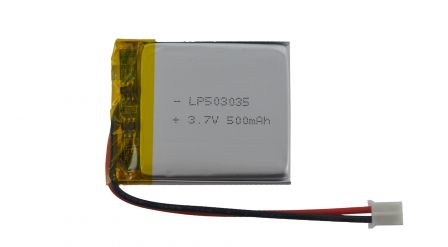 Lithium Ion Batterij - 3.7v 500mAh