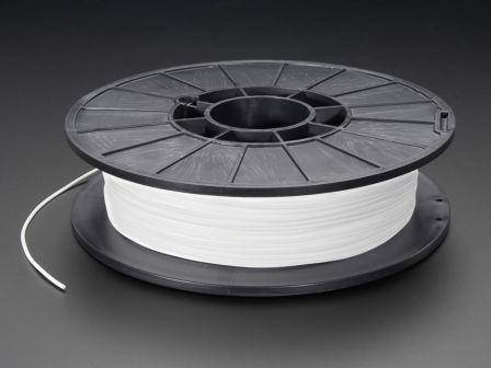 NinjaFlex - 1.75mm Diameter - Snow White - 0.5 Kg