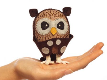 Sew-Your-Own Owl Kit - Cynthia Treen Studio