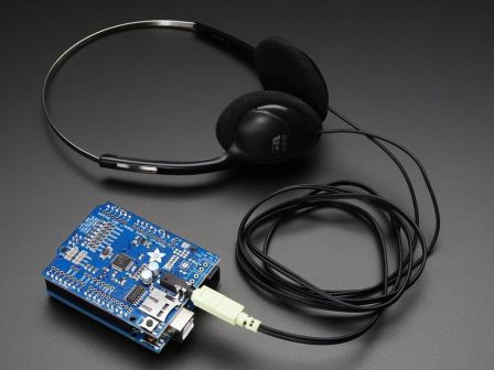 Adafruit 'Music Maker' MP3 Shield for Arduino (MP3/Ogg/WAV...)