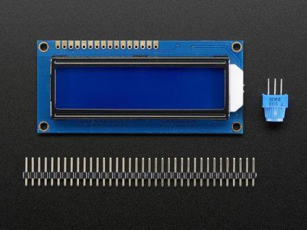 Standard LCD 16x2 + extras