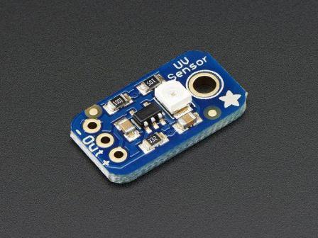 Analog UV Light Sensor Breakout - GUVA-S12SD
