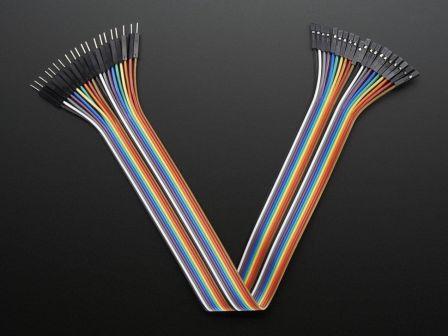 Premium Female/Male 'Extension' Jumper Wires - 20 x 12'
