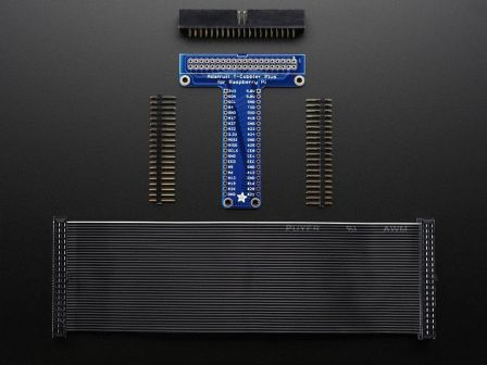 Adafruit Pi T-Cobbler Plus Kit Breakout for 2x20 Raspberry Pi