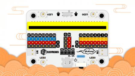 Wukong Board met Lego houder voor BBC Micro:Bit