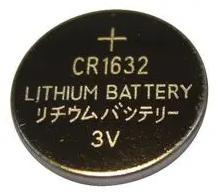 Knoopcel Batterij CR1632 120 Mah 3V
