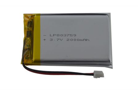 Lithium Ion Batterij - 3.7v 2000mAh