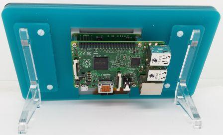 """Behuizing voor 7"""" Touchscreen SOS Water (Mat)"""