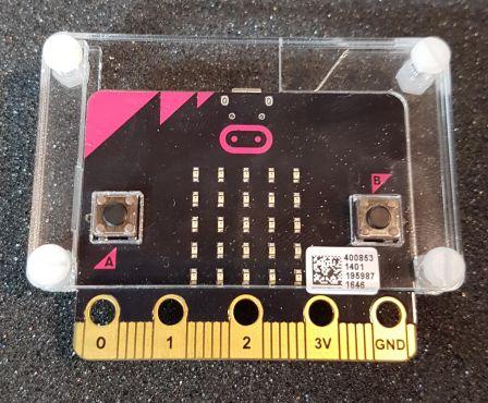 BBC Micro:bit Behuizing Transparant