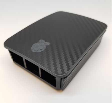 Carbon Sticker (Skin) voor Originele Raspberry Pi 3 B Foundation Behuizing