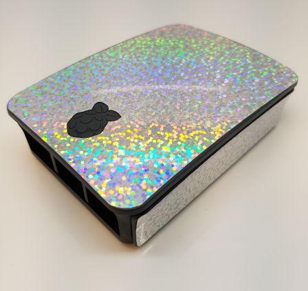 Feest Sticker (Skin) voor Originele Raspberry Pi 3 B Foundation Behuizing