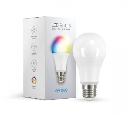 Aeotec LED Bulb Gen6 Multi-Color