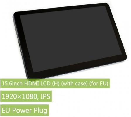 Waveshare 15.6 Inch HDMI LCD Scherm Met Standaard 1920x1080 IPS