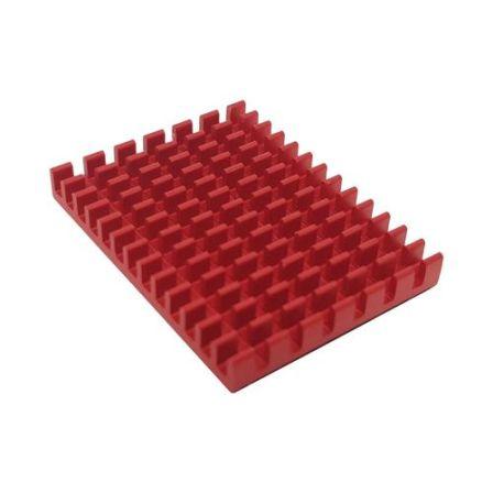 XL Koelblok voor Raspberry Pi 4B  - Rood
