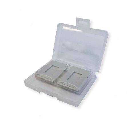Opbergbox voor 4 SD en Micro SD kaarten inclusief SD adapters
