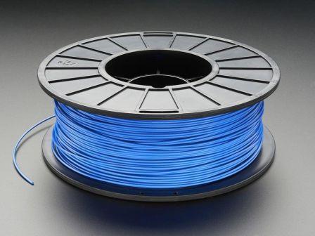PLA Filament for 3D Printers - 1.75mm Diameter - Blue - 1KG