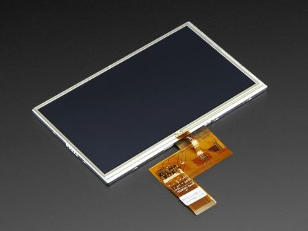 7.0' 40-pin TFT Display - 800x480 with Touchscreen