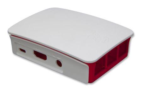 Originele Raspberry Pi 3 B(+) Foundation Behuizing Rood / Wit
